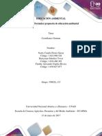 Paso 4 Ejecución - Formular Propuesta de Educación Ambiental