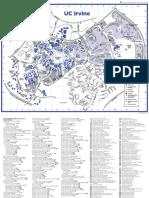 UCI 14 Map Campus