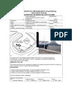 Ficha de Nivelacion - Ign