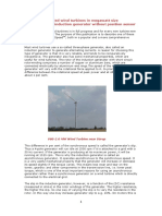 Digitally Controlled Wind Turbines in Megawatt Size