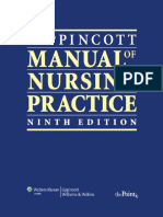 Lippincott Manual of Nursing Practice, 9th Edition