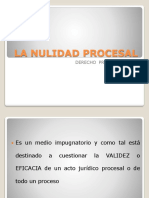 La Nulidad Procesal 2013 1