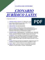 Diccionario Latin - r - 1