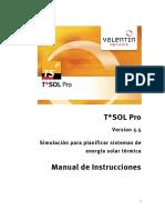 Manual Tsolpro Esp