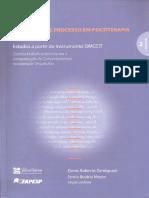 A pesquisa de processo em psicoterapia, o desenvolvimento do SiMCCIT, volume 2 - Zamignani & Meyer, 1. ed., 2014 [INDEX].pdf