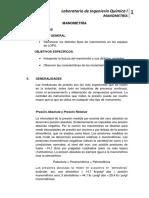 LABORATORIO DE INGENIERÍA QUÍMICA I