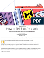 Are You a Jerk-