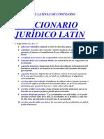 Diccionario Latin - s - 1