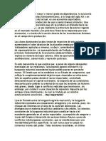 Notas de Subdesarrollo y Revolucion Ruy Mauro Marini