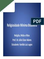 Religiosidade Mc3adnima Brasileira