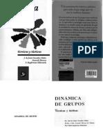 Libro Dinámicas de grupo- Anameli Monroy