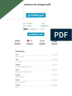 Goniometro Da Stampare Pdf Search Engine Optimization Web Search