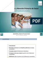 La Enfermeria Comunitaria Licenciatura