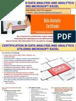 Data Analysis & Analytics Certification Training Malaysia