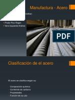 Aceros (Clasificacion, Aleantes, Produccion)
