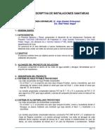 MEMORIA Descript. SANITARIA-2012.doc