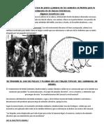 USO DE PIELES Y PLUMAS EN BOLIVIA