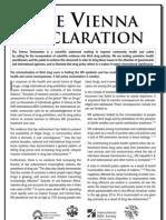 The Vienna Declaration