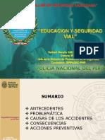 4. Eduación y Seguridad Vial