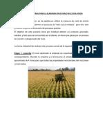 Proceso Industrial Para La Elaboraicon de Maiz Dulce Enlatado