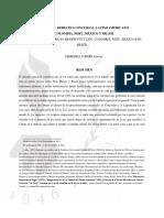 APUNTES DE DERECHO CONCURSAL LATINOAMERICANO COLOMBIA, PERÚ, MÉXICO Y BRASIL