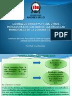 Liderazgo Directivo y Los Otros Indicadores de Calidad (8) (1)