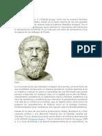 Monografia de Platon