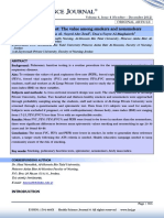 Pulmonary Function Test the Value Among Smokers and Nonsmokers