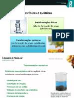 PP - Transformações Físicas e Químicas