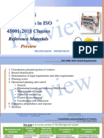 OH&S requirements in ISO 45001 clauses.References (preview)