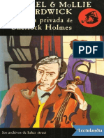 La Vida Privada de Sherlock Holmes - Michael Hardwick