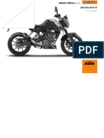 KTM Duke 200 2015 Owner Manual