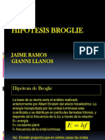 Hipotesis de Broglie Fisica 3