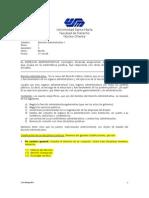 Compendio de Temas de D. Administrativo