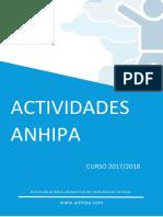 Dossier Actividades Anhipa 1718 Sp