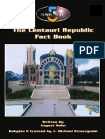 B5 RPG - Centauri Republic Fact Book