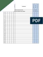 Matriz Notas Reporte Academico II III EGB