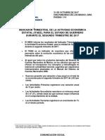 Indicador Trimestral de la Actividad Económica Estatal de Guerrero