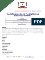 El Flamenco en Educación Infantil