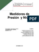Medidores de Presión y Nivel Instrumentacion_e3_crr