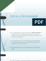 Cat-A y Cat-h Infantil