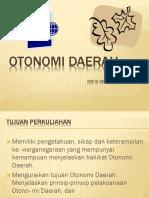 Otonomi daerah 1