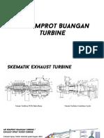 Air Semprot Buangan Turbine