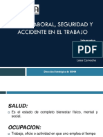 Salud,Seguridad y Accidentes Laborales