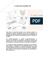 Planos para construir muebles de madera.doc
