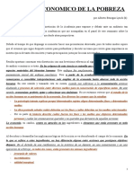 Analisis Economico de La Pobreza (Benegas Lynch)