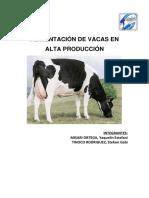 Monografía Vacas en Producción