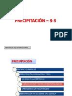 3.3 Distribuciones Precipitacion