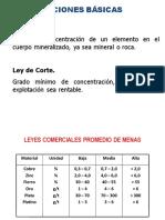 b.- Fundamentos de Concentrado de Minerales