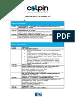 Programa Final COLPIN 2017